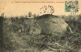 ASIE 050416 - VIET NAM COCHINCHINE - Chasse à L'éléphant Province De CANTHO - Le Chasseur - Viêt-Nam