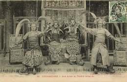ASIE 050416 - VIET NAM COCHINCHINE - SAIGON - Une Scène Du Théâtre Annamite - Artiste - Vietnam