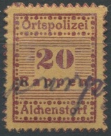 1288 - ALCHENSTORF Fiskalmarke - Steuermarken