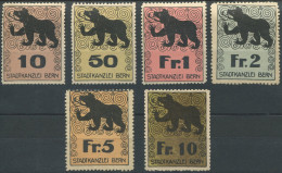 1289 - BERN Fiskalmarken - Fiscaux