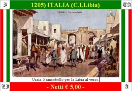 Tripoli 01205 (C.I.Libia) - Libya