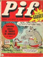Pif Gadget N° 90 De Nov 1970 - Avec Teddy Ted, Nestor, Pifou, Léo, Horace, Dr Justice, Couik, Placid & Muzo. Revue En BE - Pif & Hercule