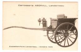 Landerrneau - Exposition Foire - Octobre 1926 - Carrosserie Abgrall - Landerneau