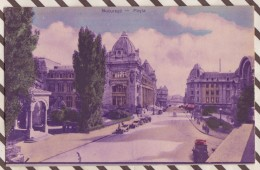 6AI2020 ROUMANIE BUCAREST BUCURESTI POSTE   2 SCANS - Roumanie