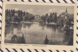 6AI2024 ROUMANIE BUCAREST BUCURESTI PARCUL CAROL  2 SCANS - Roumanie