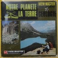 VIEW MASTER  POCHETTE DE 3 DISQUES    B 675  NOTRE PLANETE LA TERRE - Visionneuses Stéréoscopiques