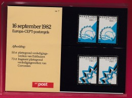 "NEDERLAND, 1982 , Stamps ""Postboek Europa"",  PB 7, F1135 - Period 1980-... (Beatrix)"