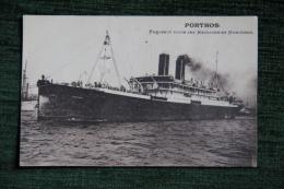 PORTHOS - Paquebot Poste Des Messageries Maritimes. - Paquebote