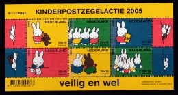 NEDERLAND, 2005 , Stamps Block , Kinderzegels, Veilig En Wel, Bl2370 #7210 - Period 1980-... (Beatrix)
