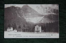 CHAMONIX - Les Tines, Hotel De La Forêt Et Aiguille Du DRU - Chamonix-Mont-Blanc