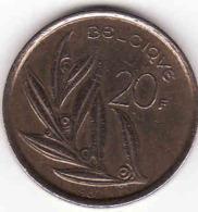 Belgique, Baudouin, 20 FRANCS 1982 - 1951-1993: Baudouin I