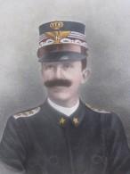 ROI D'ITALIE VICTOR EMMANUEL II- MILITARIA->Repro Gravure Personnage Historique PORTANT MEDAILLE HONORIFIQUE - Altri