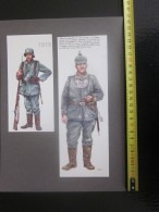 UNIFORMES ALLEMANDS FELDGENDARME  MILITARIA->Gravures Recto/verso Personnage Historique PORTANT MEDAILLE HONORIFIQUE - Uniformes