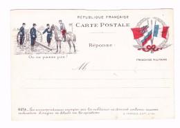 Carte Lettre En Franchise Militaire - Editions Farges - Militaire Kaarten Met Vrijstelling Van Portkosten