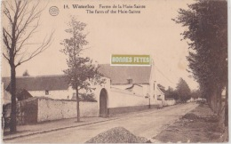 WATERLOO  FERME DE LA HAIE SAINTE - Waterloo