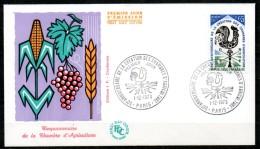 FDC Dept 75 PARIS Création Chambre D'agriculture 1973 - 1970-1979