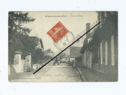CPA Très Abîmée  - St Georges Sur Cher  - Route De Bléré - Autres Communes