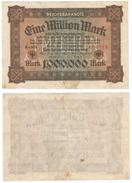 Alemania - Germany 1.000.000 Mark 1923 Pick 86.a Ref 70-2 - [ 3] 1918-1933 : República De Weimar