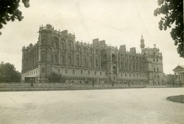 France Saint Germain En Laye Chateau Traite De Paix Ancienne Photo Trampus 1919 - Places