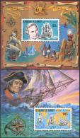 Djibouti 1980. Michel Bl.#27/28 MNH/Luxe. James Cook (L-10) - Ships