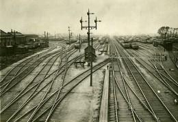 Royaume Uni Gare De Stratford Greve Des Chemins De Fer Ancienne Photo Trampus 1920 - Trains