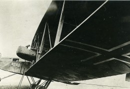 Allemagne Apres Guerre Transformation D'un Avion Militaire 3 Anciennes Photos Trampus 1919 - Aviation