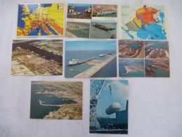 MARSEILLE - FOS SUR MER (13) : Zones Portuaire - LOT De 8 CPM - Voir Les Scans Recto - Verso - Non Classés