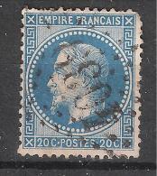 GC 4039 De TUCHAN, Aude, INDICE 12 Sur Empire Lauré N° 29 - 1849-1876: Classic Period