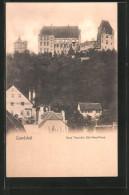 AK Landshut, Burg Trausnitz, Süd-West-Front - Landshut