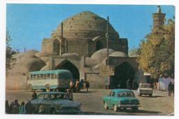 Ouzbekistan--BUCKHARA--The Toki Telpakfururushon Market Cupola (animée,voitures,autocar) 14 X 9 N°P03341 - Ouzbékistan