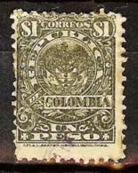 COLOMBIA 1902.__.__ [167-1] Escudo. 8a. Emision - Colombia