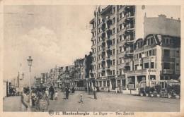 Blankenberghe (Blankenberge) / La Digue / Den Zeedijk - Blankenberge