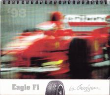 CALENDARIO 1998 - GOOD YEAR RACING F1 - Calendari