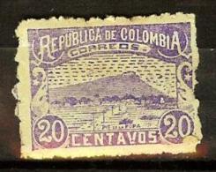 COLOMBIA 1902.05.02 [178c-3] Vistas De Cartagena Y Barranquilla. 9a. Emision. Guerra De Los Mil Días - Colombia
