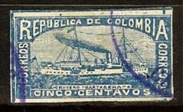 COLOMBIA 1903.01.02 [181f-1] Personajes Y Motivos Colombianos - Colombia