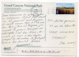 """2005--carte Postale """"Grand Canyon National Park"""" Des USA Pour La France--timbre - Cartas"""