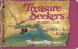 Treasure Bay Casino Bolixi MS - 4th Issue Slot Card - 1-800-PIRATE-9 Phone# - Casino Cards