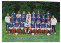1998--FRANCE 98--PAP Carte Postale--Football--Equipe De France-Championne Du Monde--NEUF - Coupe Du Monde