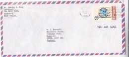 1980 Air Mail BARBADOS COVER ROTARY INTERNATIONAL Stamps Rotary Club - Barbados (1966-...)