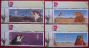 Namibia   1999   Birds  4v  MNH - Águilas & Aves De Presa