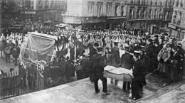 PARIS Les Zeppelins Funérailles Nationales,,Très Animée ELD - Ohne Zuordnung