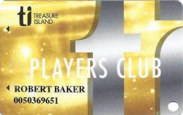 Treasure Island Casino Las Vegas, NV - Slot Card - Casino Cards