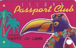 Treasure Island Casino Red Wing, MN - 3rd Issue Slot Card - Sturgeon Lake Rd Address - Casino Cards