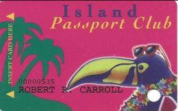 Treasure Island Casino Red Wing, MN - 4th Issue Slot Card - PO Box 75 Address - Casino Cards