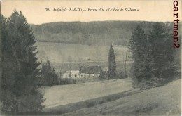 """AUFFARGIS FERME DITE """" LE FEU DE SAINT-JEAN """" 78 YVELINES - Auffargis"""