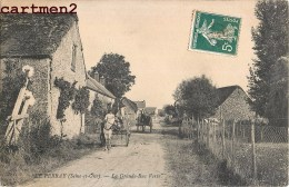 LE PERRAY LA GRANDE RUE VERTE ATTELAGE 78 YVELINES - Le Perray En Yvelines