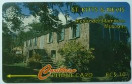 ST KITTS & NEVIS - GPT - Museum - $10 - Specimen - St. Kitts & Nevis