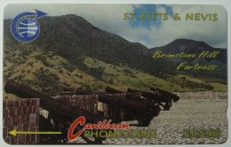 ST KITTS & NEVIS - GPT - Peninsula - $40 - 3CSKE - Used - St. Kitts & Nevis
