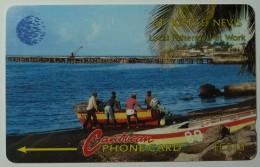 ST KITTS & NEVIS - GPT - Fishermen - $40 - 6CSKA - Mint