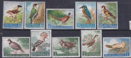 San Marino 1960 Birds Set Mint Never Hinged - Ongebruikt
